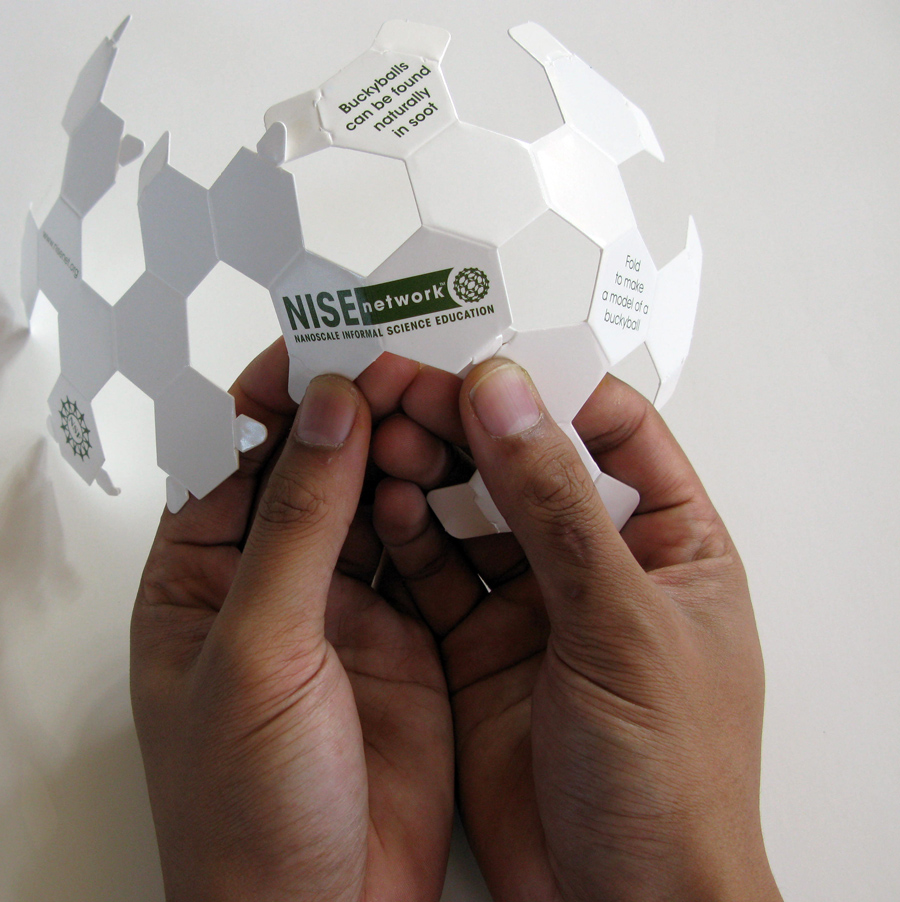 buckyball research paper Buckyball: the magic molecule in fact, the paper model formed a ball and it opens a whole new field of buckyball research.