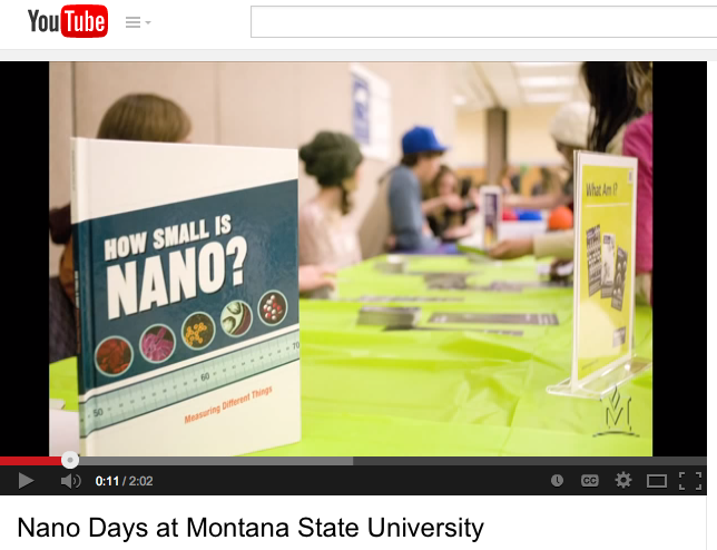 Montana State University NanoDays 2012 video