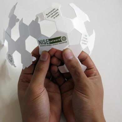 Buckyball cut-out