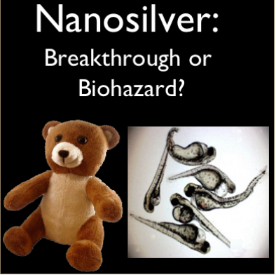 Nanosilver: Breakthrough or Biohazard? with toy bear