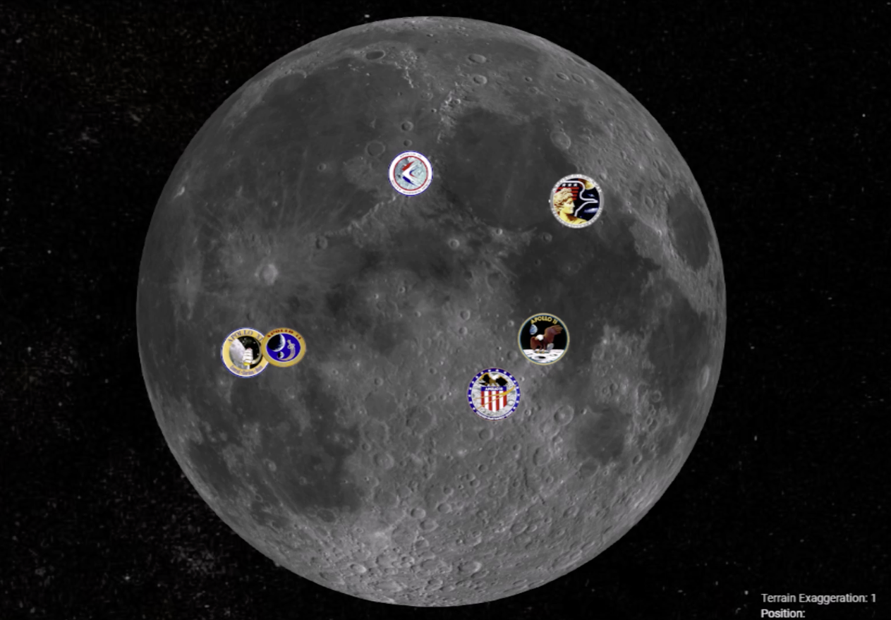 Apollo Lunar Landing Sites Video Nise Network