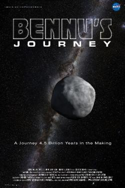 poster for Bennu's Journey film by NASA