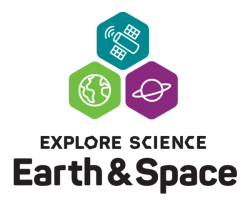Explore Science Earth & Space logo