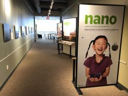 Nanostructures: Nature vs. Engineering and the Nano Exhibit