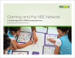 gaming and the NISE Network cover