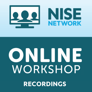 Online workshop recordings logo square