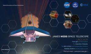 Example poster of James Webb Space Telescope