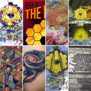 NASA Share your art inspired by the Webb Telescope images montage of artwork various artists