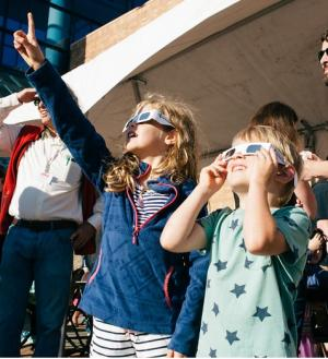 OMSI solar eclipse event