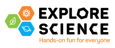 Explore Science hands on fun for everyone logo