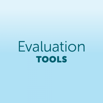 Evaluation tools icon
