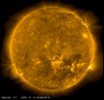 View of the Sun from the Solar Dynamics Observatory