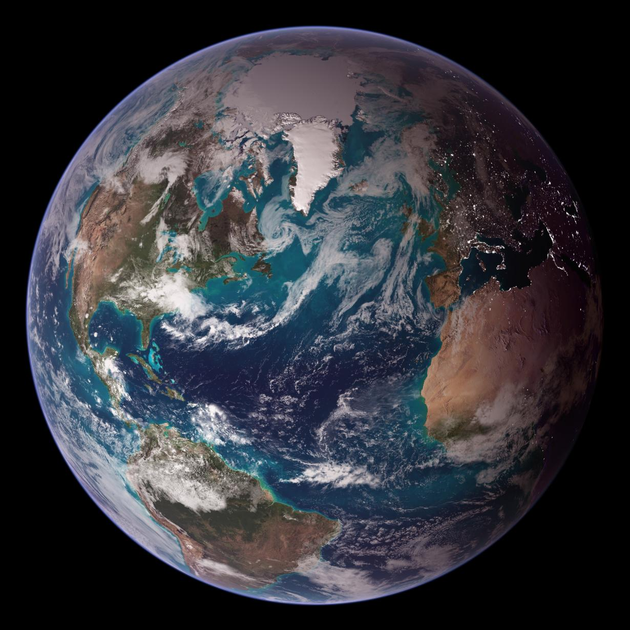Bluemarble image of Earth