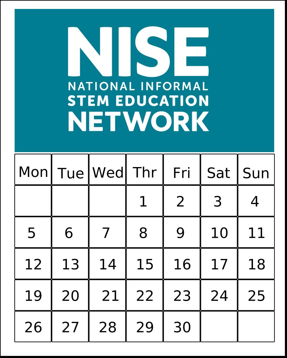 NISE Net calendar art