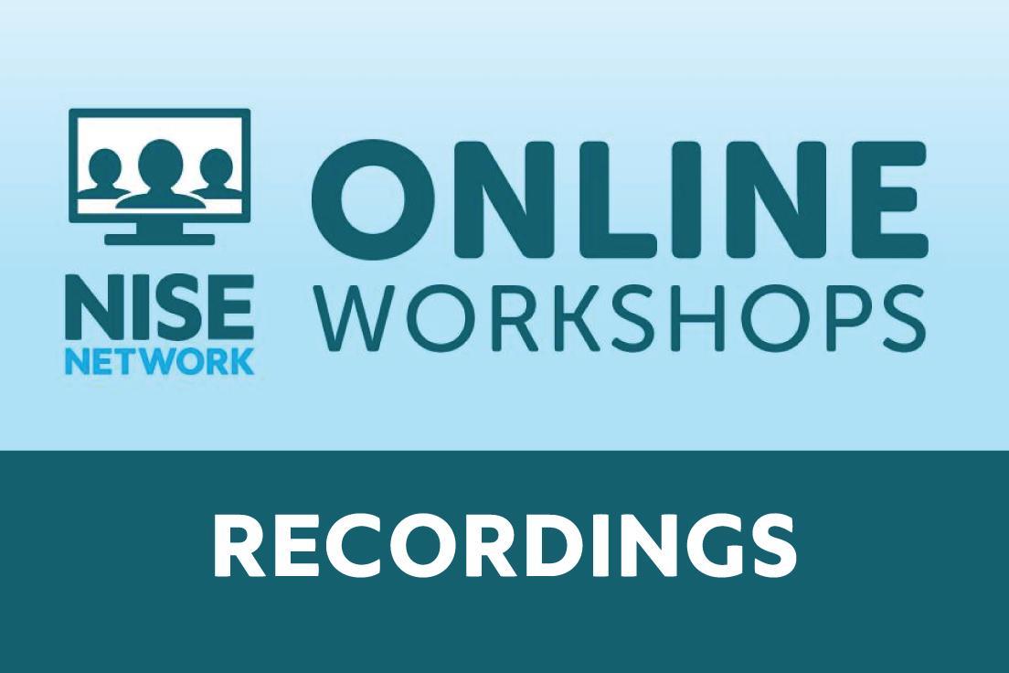 Logo for online workshop recordings