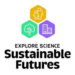 Explore Science: Sustainable Futures logo