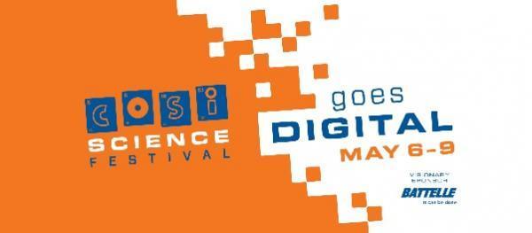 COSI digital science festival logo