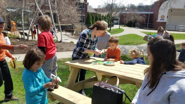 Children's Museum of New Hampshire sustainability activity photo