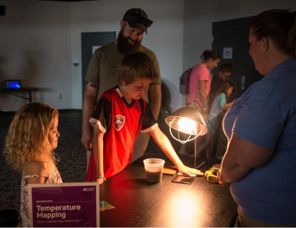 Temperature Mapping hands-on activity picture