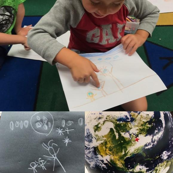Hands-on learning activity about daytime and nighttime