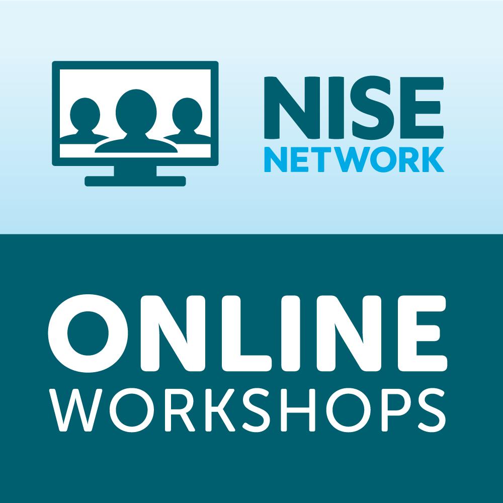NISE Network Online Workshop logo