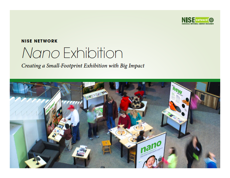cover image for the nano exhibition guide about creating a small footprint exhibition
