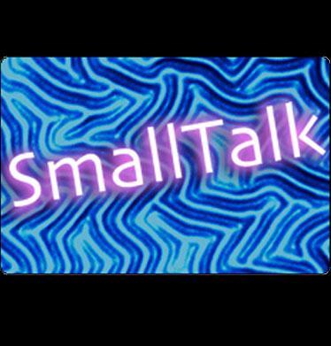 Small Talk podcast Logo