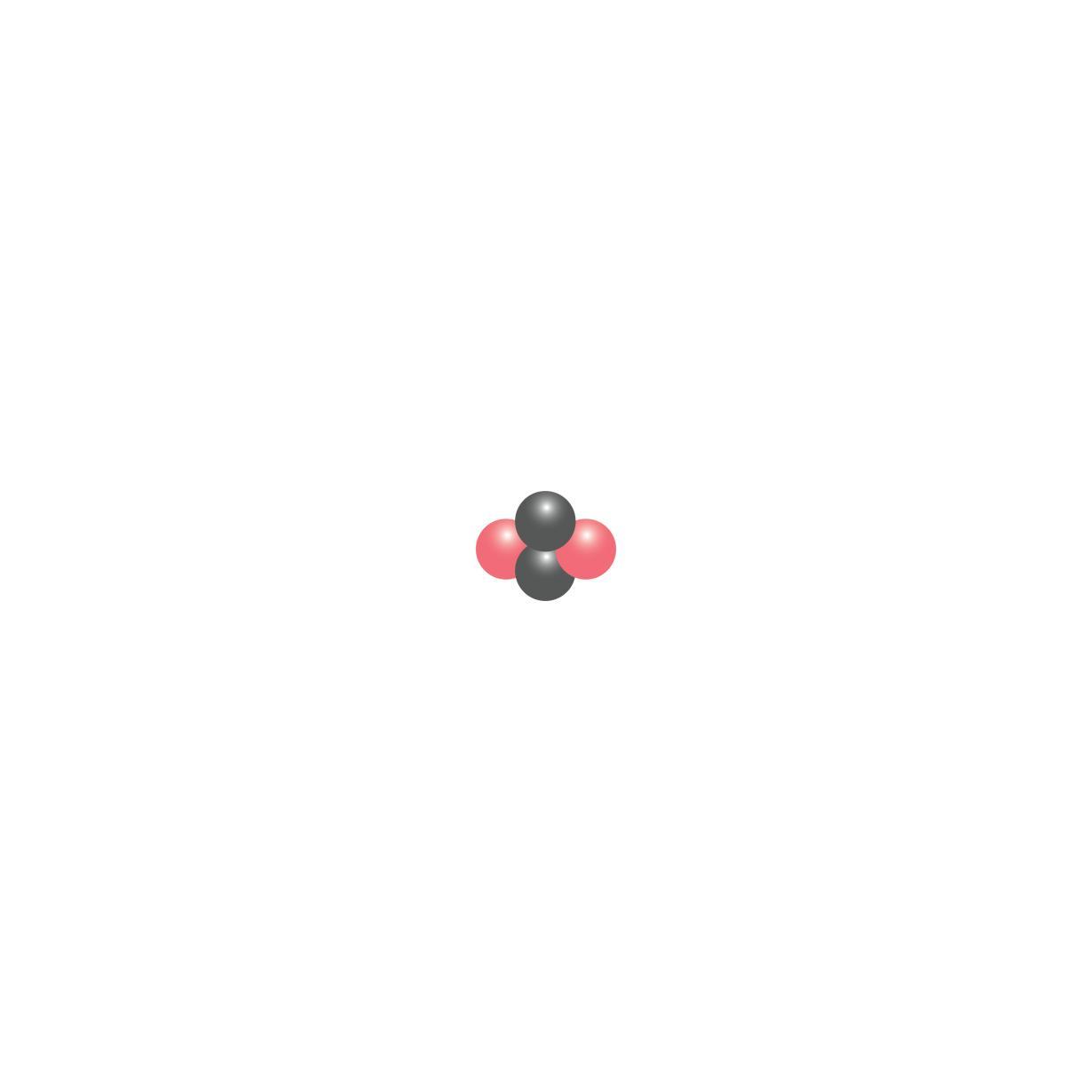 Scientific illustration  of a helium nucleus.