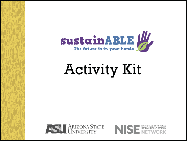 Sustainability Training Materials