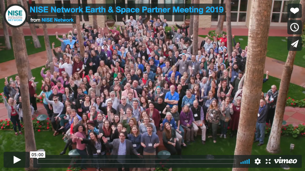 NISE Network Earth & Space Partner Meeting 2019