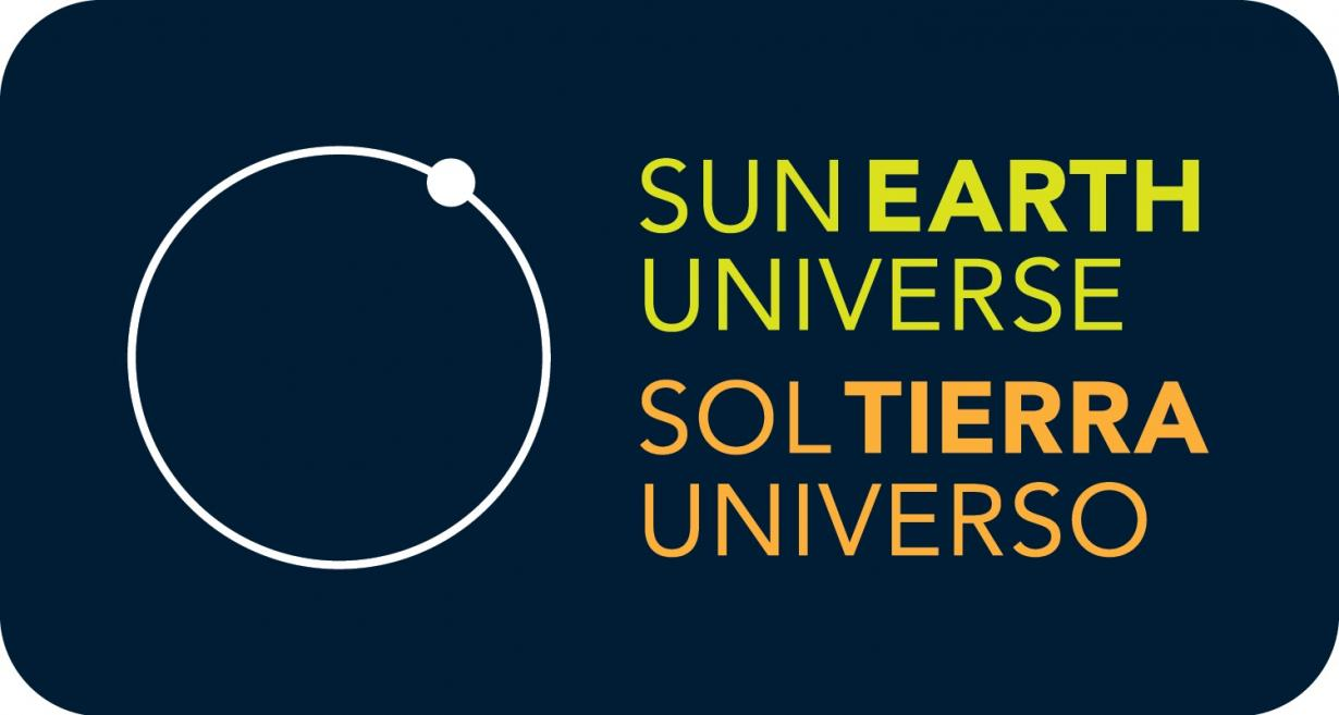 Sun Earth Universe exhibition logo