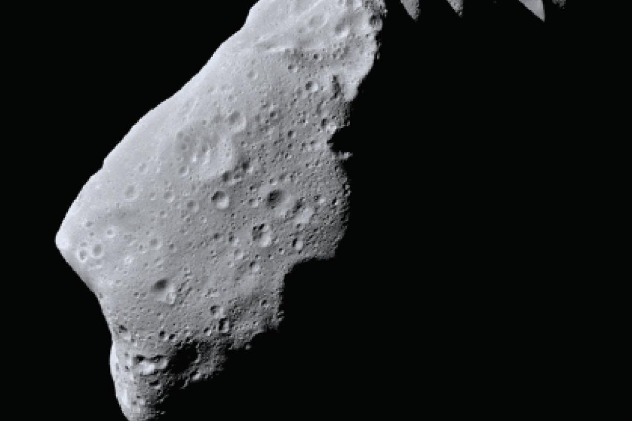NASA Solar System Asteroid card