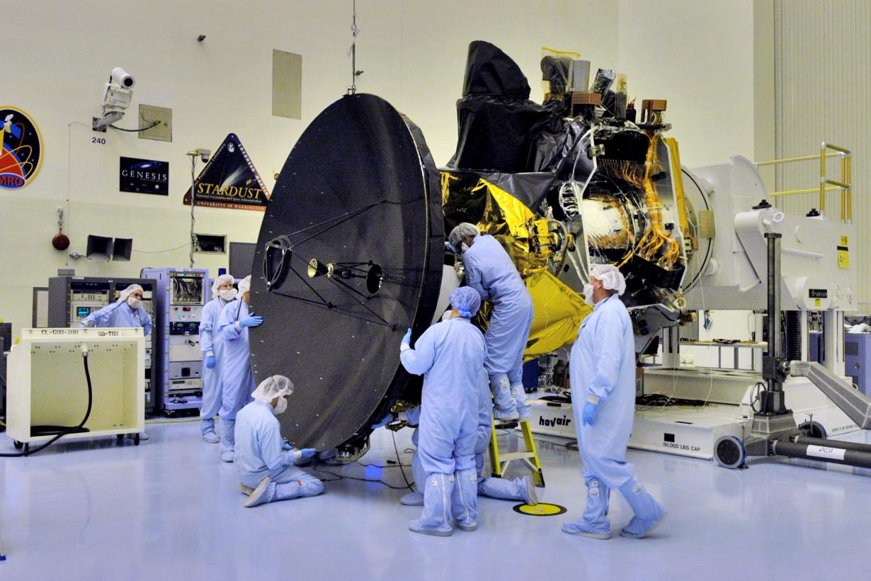 NASA scientists put together the Mars Reconnaissance Orbiter