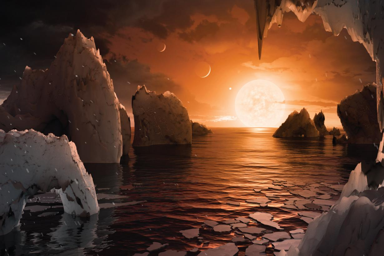 surface of an exoplanet