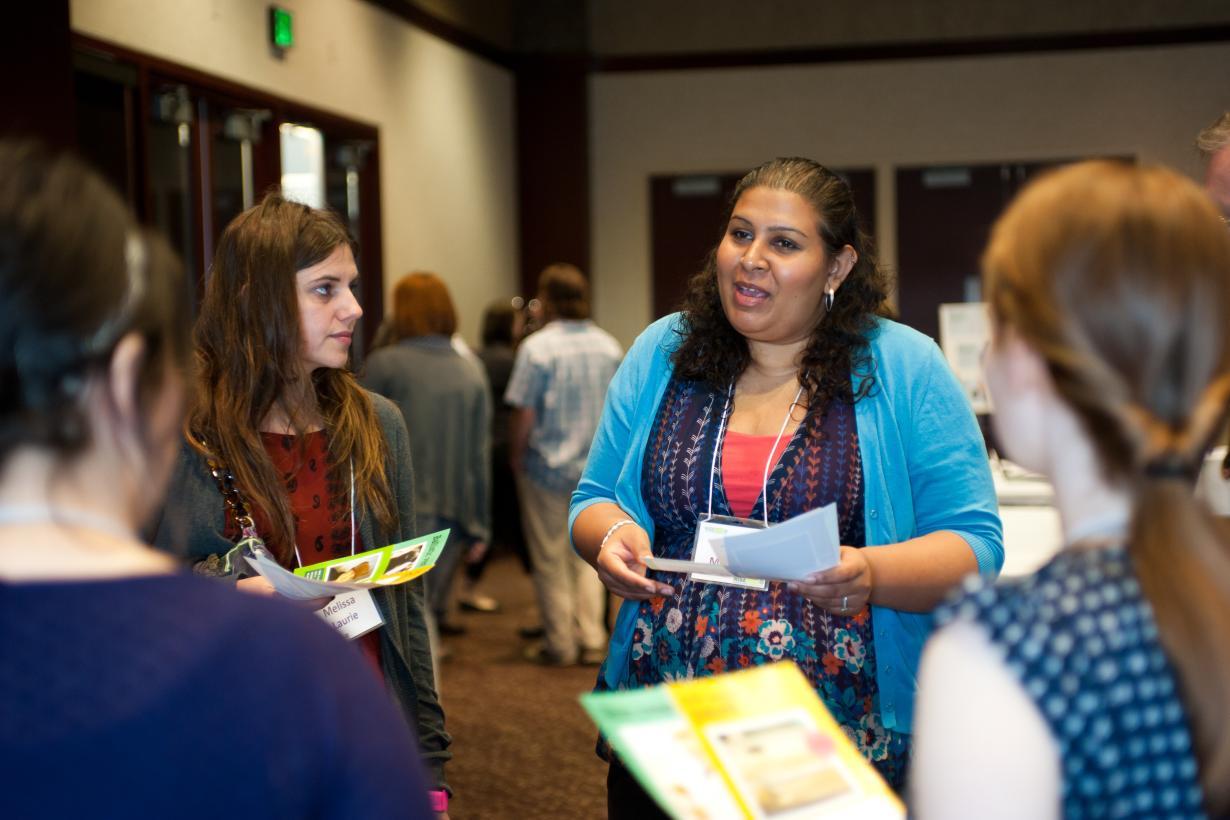 NISE Net subawardee meeting 2012 people discussing