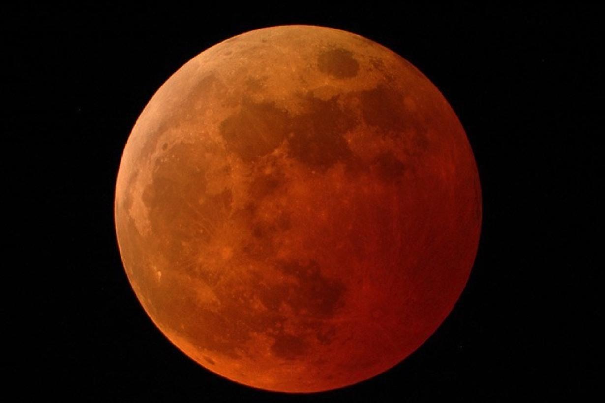 An image of a lunar eclipse