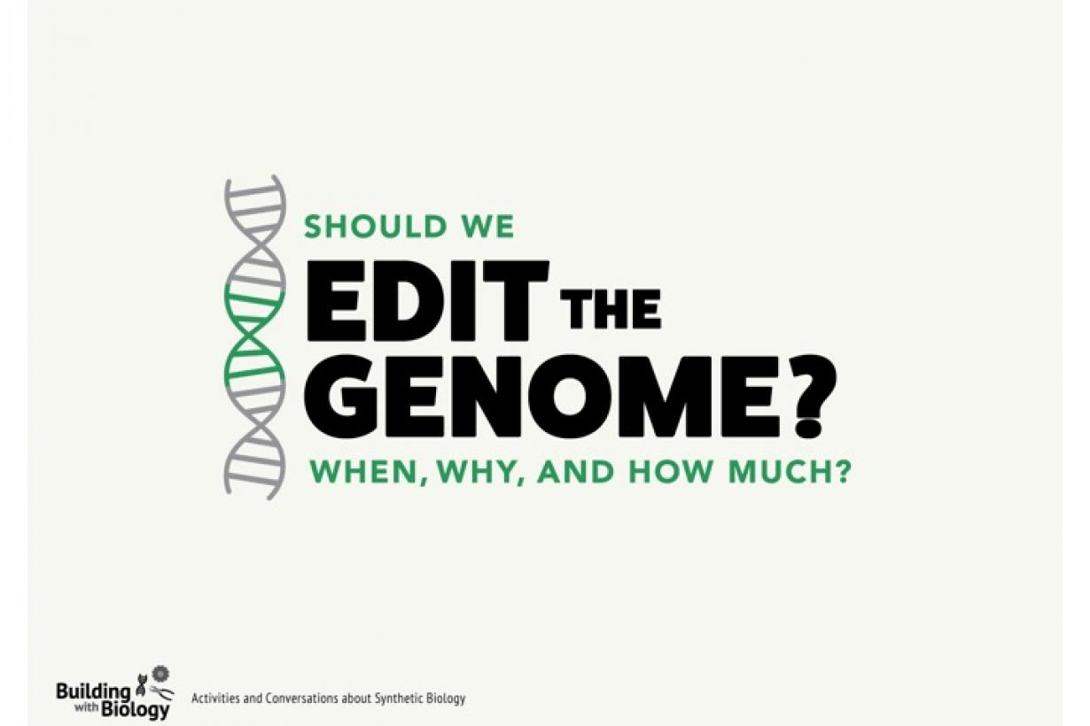 Should We Edit the Genome title slide