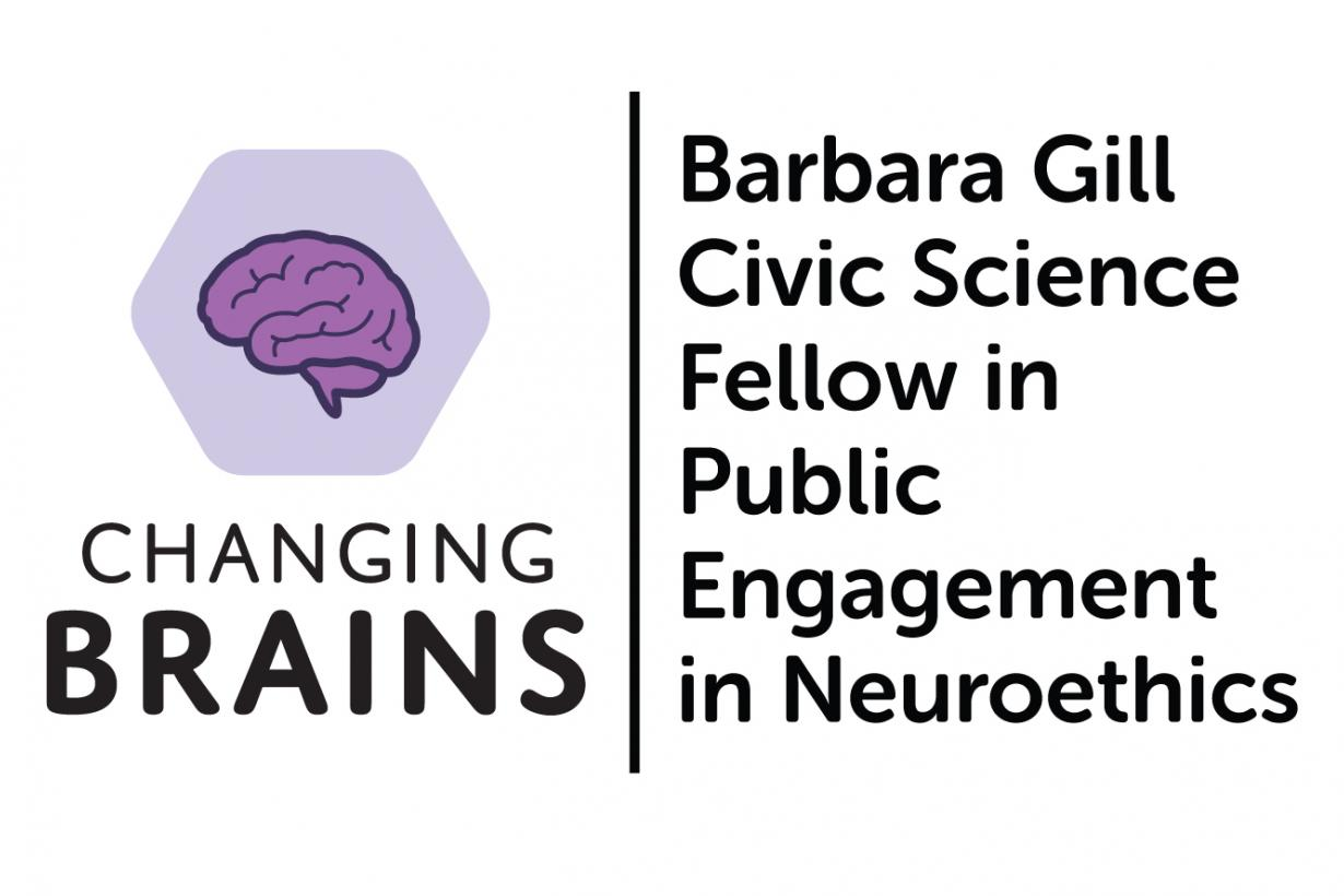 changing brains logo with job title