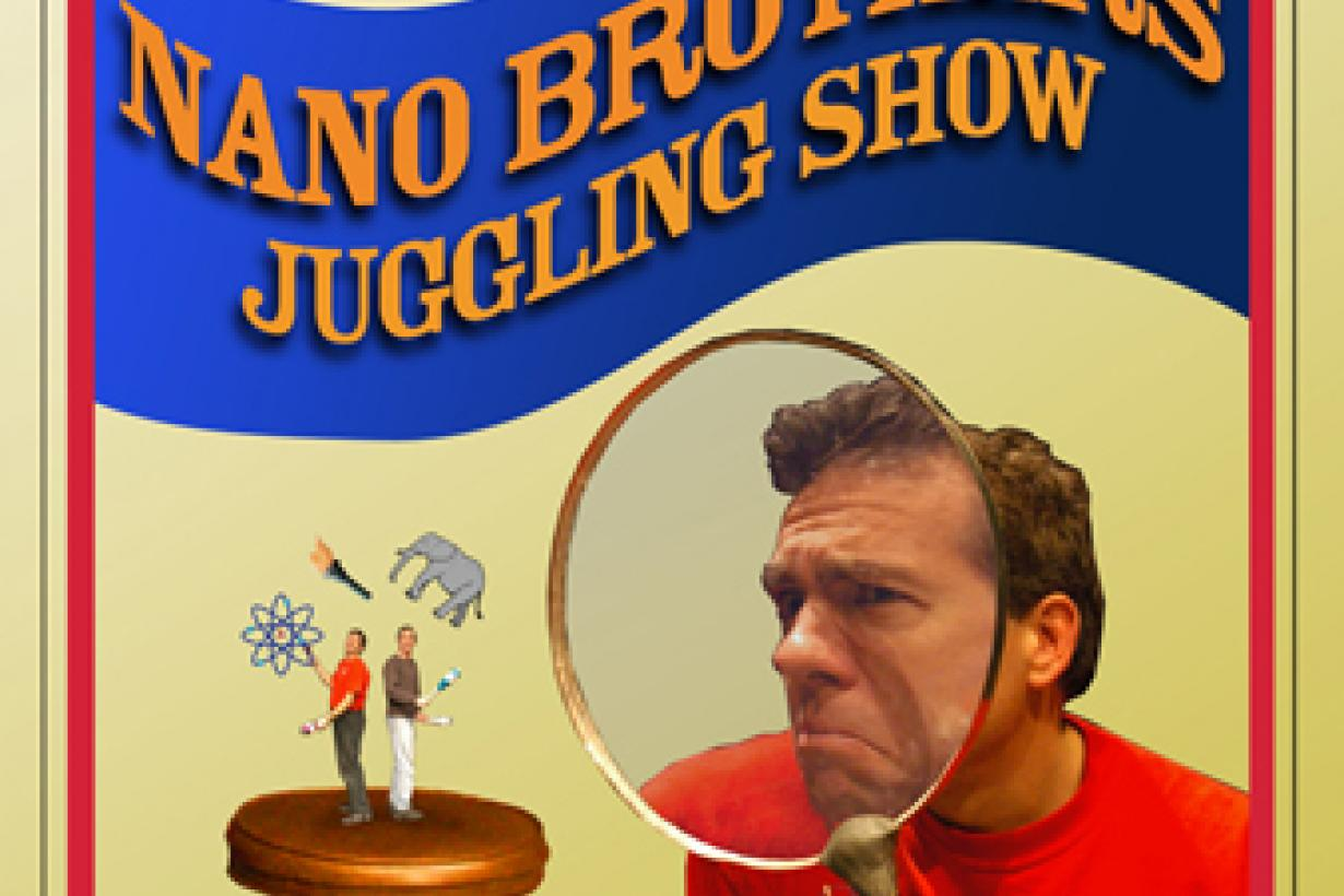 Amazing Juggling Nano Brothers show poster