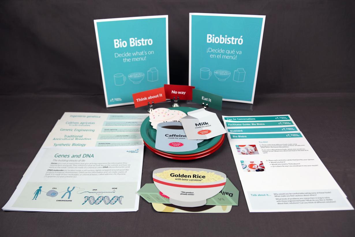 Building with Biology Bio Bistro activity components