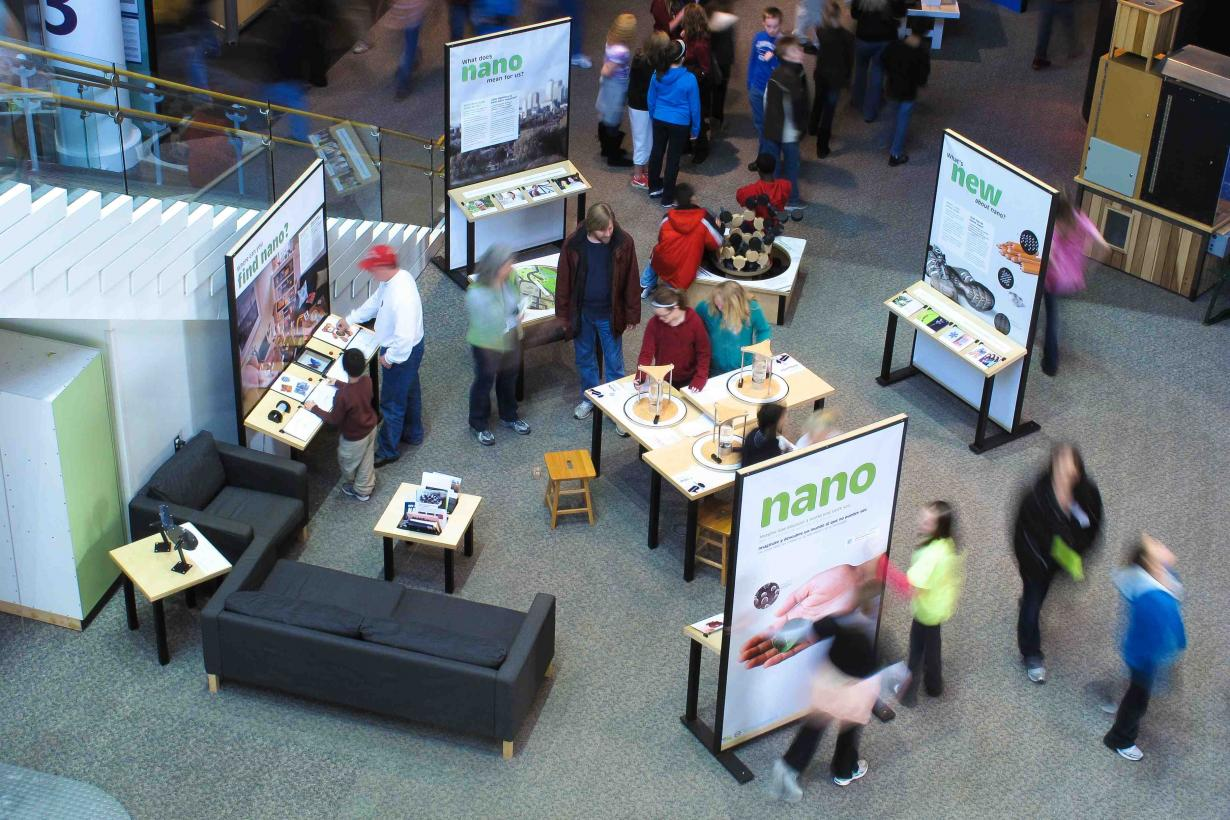 Nano mini-exhibition birdseye view