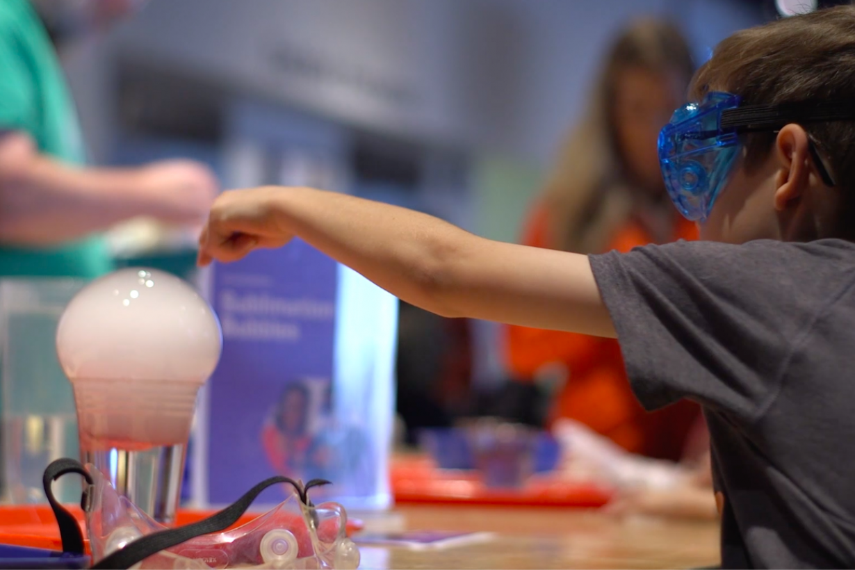 Explore Science: Let's Do Chemistry event promotional video screenshot
