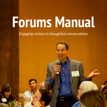 Forums manual cover