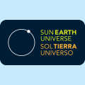 Sun Earth Universe exhibition logo