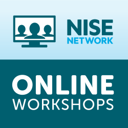 NISE Network Online Workshop logo