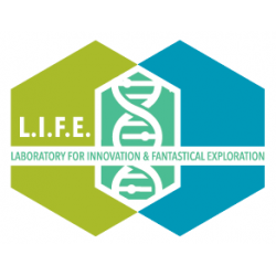 LIFE logo with border