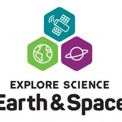 explore science earth and space logo