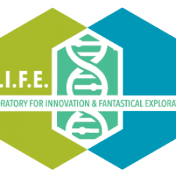 Frankenstein game LIFE logo
