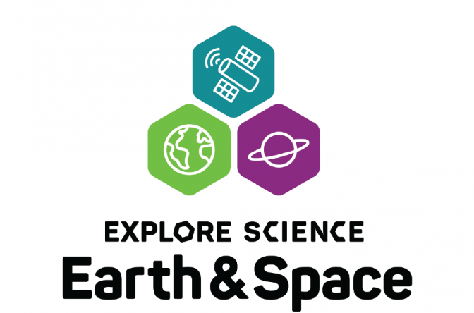 Earth and Space logo square