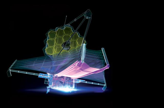 Webb Space Telescope hero without text overlay
